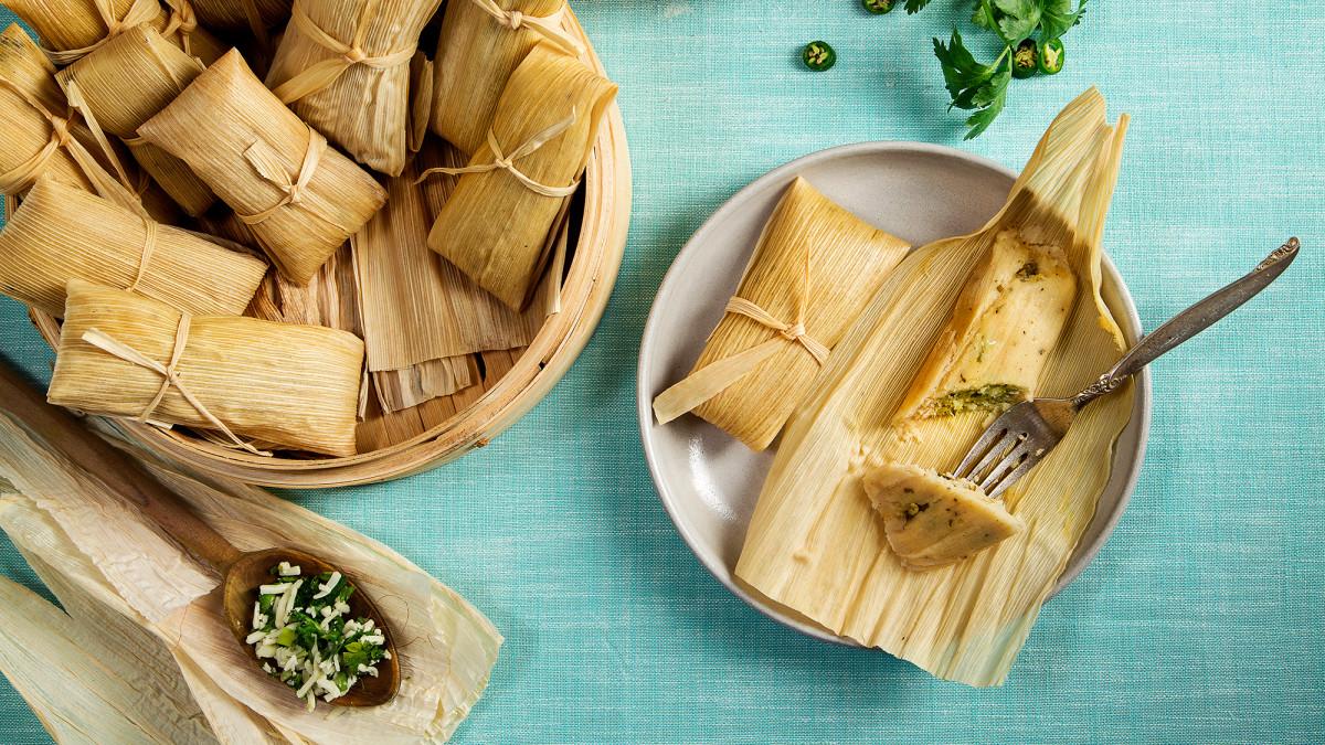 Makanan Tamales dari Meksiko