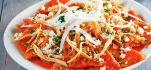 Chilaquilles, Cara Makan Tortila Berbagai Variasi