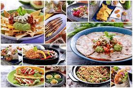 Masakan Daerah dan Masakan di Luar Meksiko